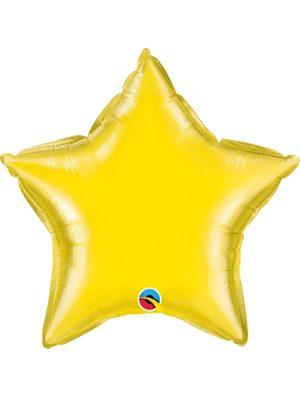 Globo foil estrella Yellow