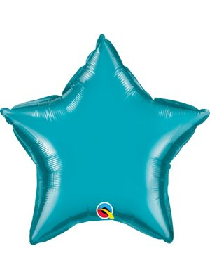 Globo foil estrella Turquoise