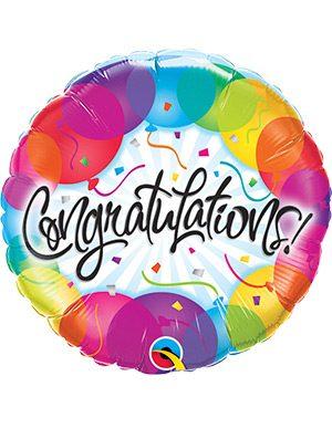 Globo foil Congratulations Balloons