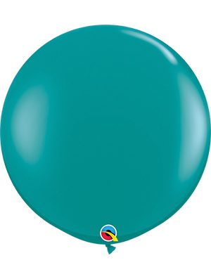Globo látex transparente Jewel Teal