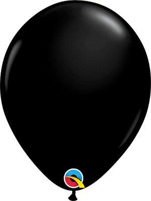 Globo látex negro Onyx