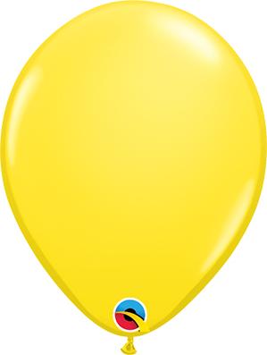 Globo látex Amarillo