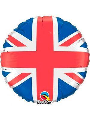 Globo foil bandera Reino Unido