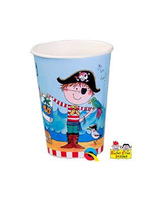 Vasos Pirata Rachel Ellen, 6x8u