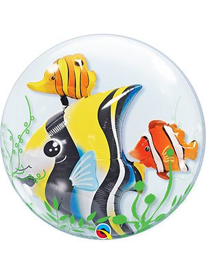 Globo Double Bubble Seaweed Tropical Fish