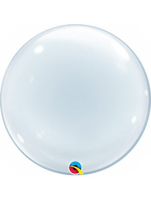 Globo Deco Bubble Clear 20""