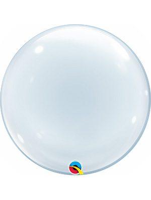 "Globo Deco Bubble Clear 20"""