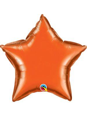 Globo foil estrella Orange