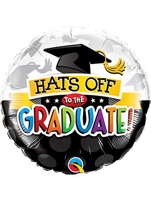 Globo Foil Hats Off To The Graduate