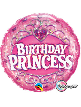 Globo foil Birthday Princess