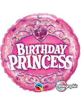 Globo foil Birthday Princess