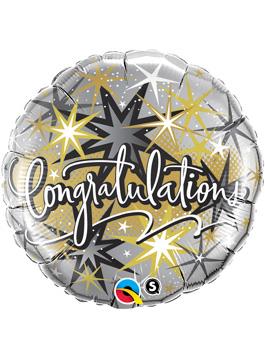 Globo foil Congratulation Elegant