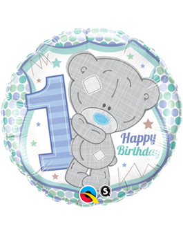 Globo foil Tiny Tatty 1st Birthday Boy