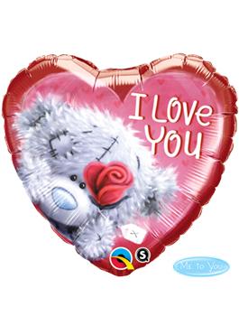 Globo foil Tatty Teddy I Love You