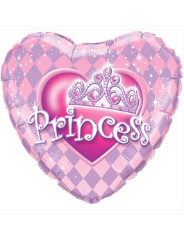 Globo foil Princess Tiara