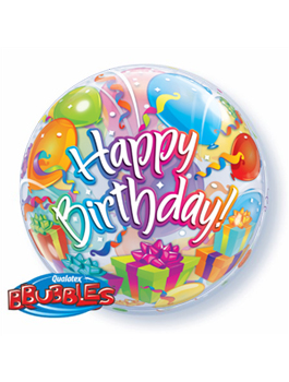 Globo Bubble Birthday Sorpresa