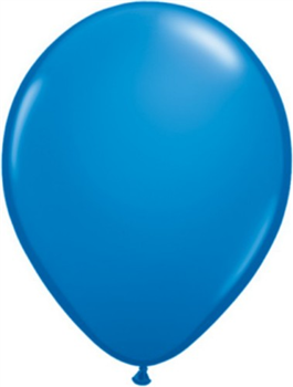 Globo látex azul Dark Blue