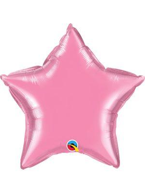 Globo foil estrella Rose