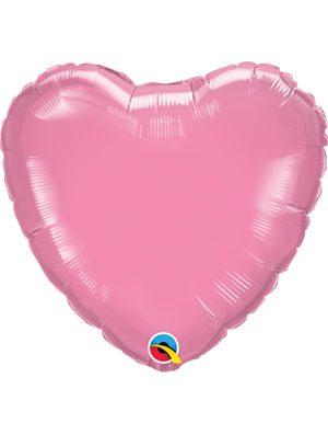 Globo foil corazón Rose