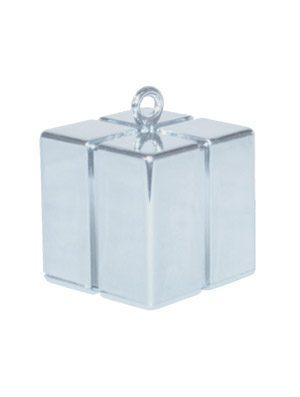 Peso cajita Gift Box plata
