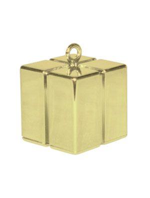 Peso cajita Gift Box dorado