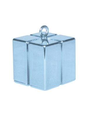 Peso cajita Gift Box azul claro perlado