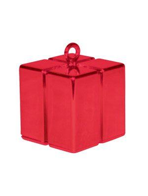 Peso cajita Gift Box rojo