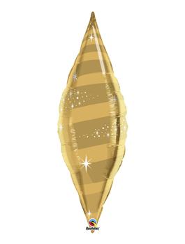Globo foil Taper Swirl Gold