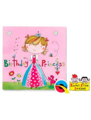 Servilletas Princesa Rachel Ellen, 20u