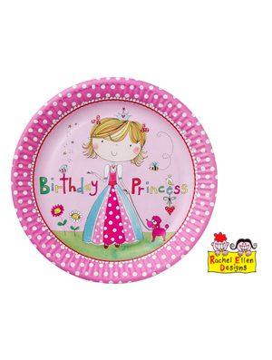 Platos Princesa Rachel Ellen, 6x8u