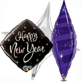 Globos Foil Año Nuevo
