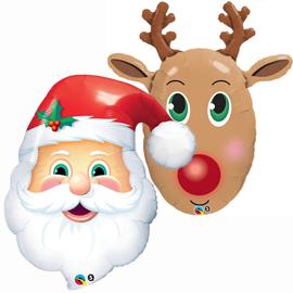 Globos Foil Navidad