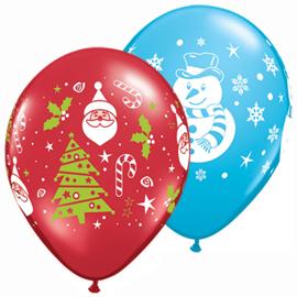 Globos Latex Navidad