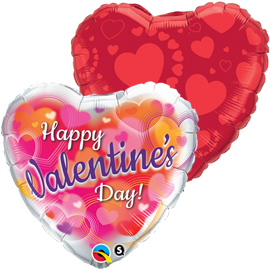 Globos foil San Valentin