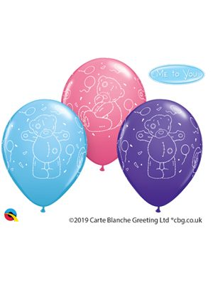Globo látex Tatty Teddy Balloons