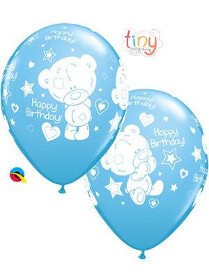 Globo látex Tiny Tatty Teddy Birthday niño