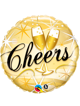 Globo foil Cheers Starbusts