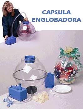 Englobadora para globos stuffing