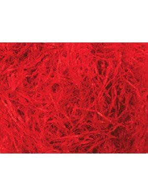 Tissue rojo papel rallado