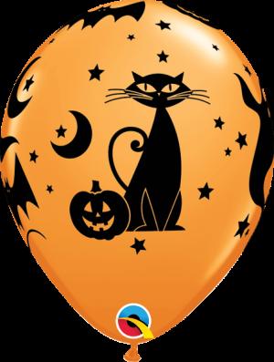 Globo látex siluetas Halloween Fun & Spooky Icons