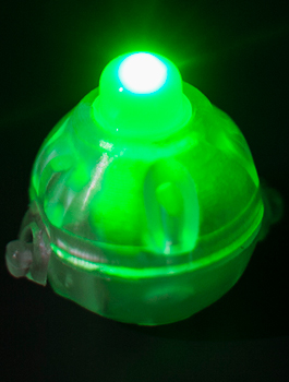 luz led para globo color verde La Central de Globo