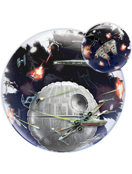 Globo Double Bubble Star Wars Estrella de la Muerte