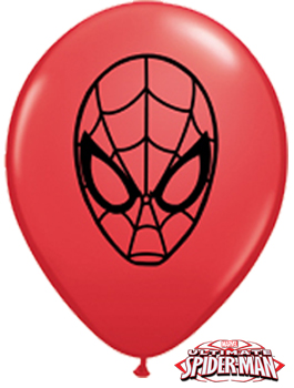 Globo látex MARVEL'S Spider-Man Face 5""