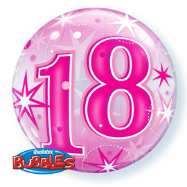 Globos Single Bubble numeros