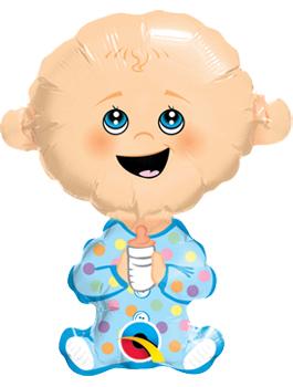 Globo Foil Baby Boy