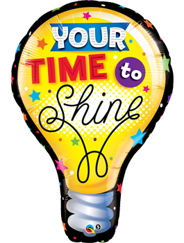 Globo foil Your Time To Shine