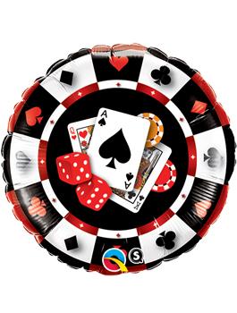 Globo foil Casino