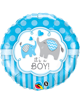 Globo foil It´s a Boy Elephants