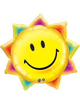 Globo foil Sunshine Smile Face