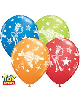 Globo látex Pixar Toy Story Stars